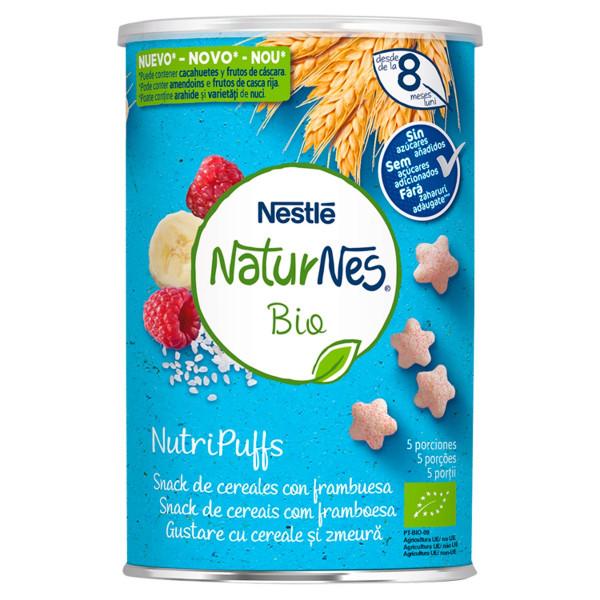 Nestlé NaturNes BIO chrumky malinové 35 g 1