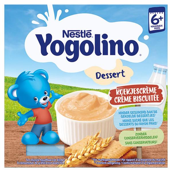 Nestlé Yogolino baby dezert Sušienka 4 x 100 g 1