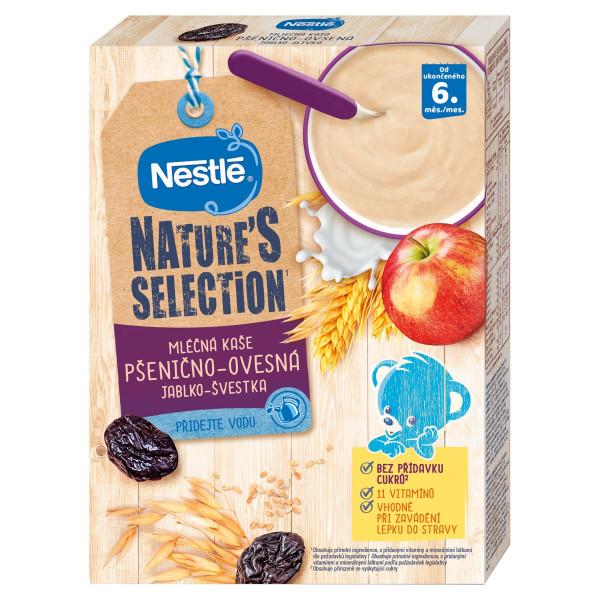 Nestlé Nature´s mliečna kaša jablko, slivka 250 g 1