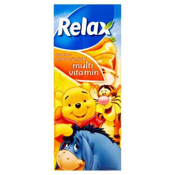Relax Džús Disney multivitamín 200 ml 1