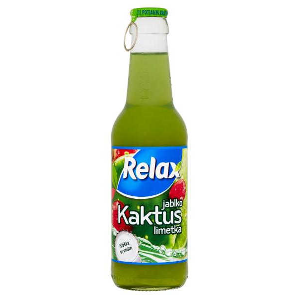 Relax Viečko Jablko kaktus limetka 250 ml 1