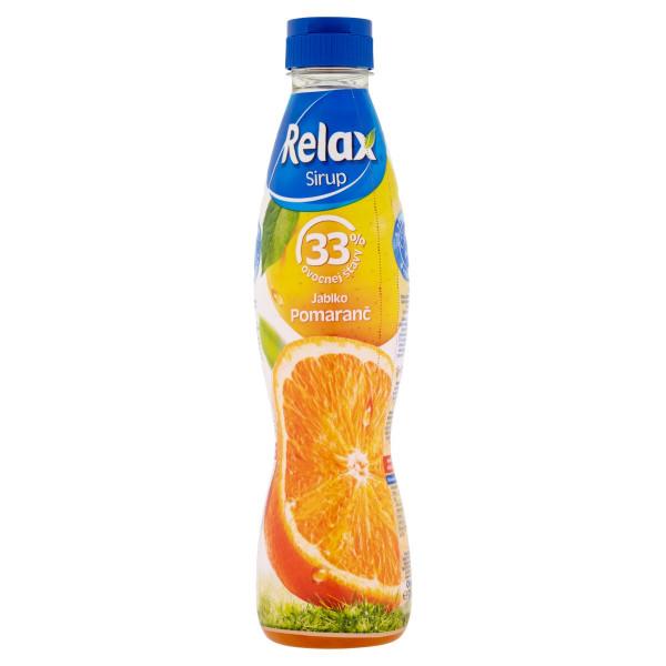 Relax Sirup jablko pomaranč 700 ml 1