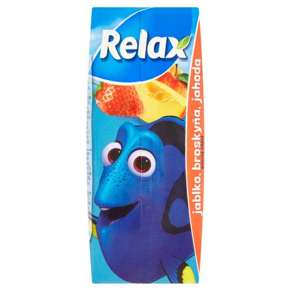 Relax Džús Pixar jablko, broskyňa, jahoda 200 ml 1