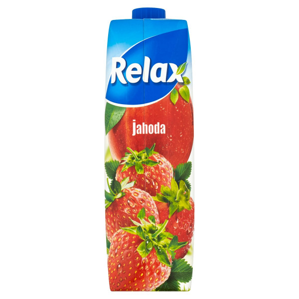 Relax Džús Jahoda 1 l 1