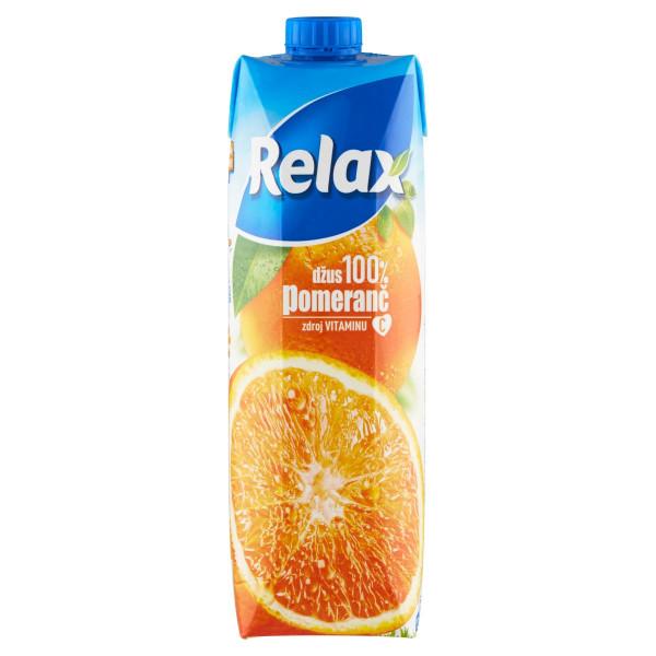 Relax Džús 100% pomaranč 1 l 1