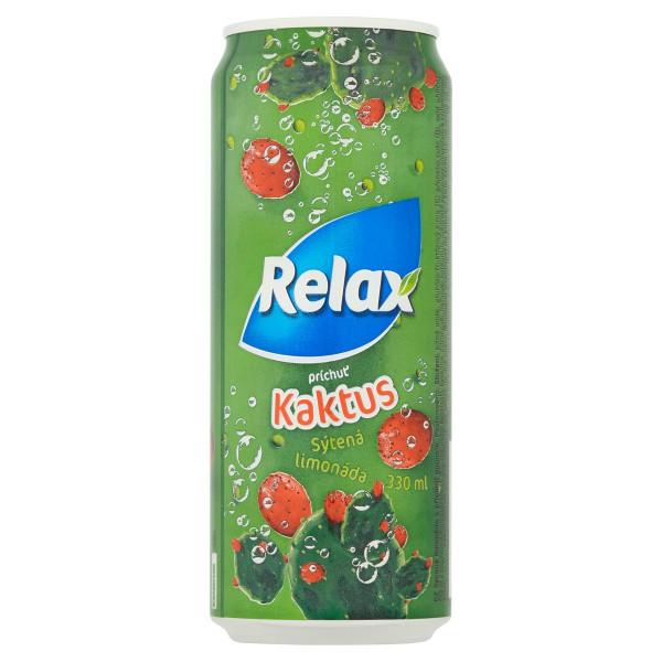 Relax Plechovka Limonáda KAKTUS 330 ml 1