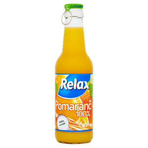 Relax Viečko 100% pomaranč 250 ml 1