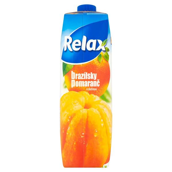 Relax Brazílsky pomaranč s dužinou 1 l 1