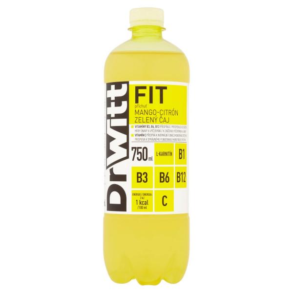 DrWitt FIT mango, citrón a zelený čaj 750 ml 1