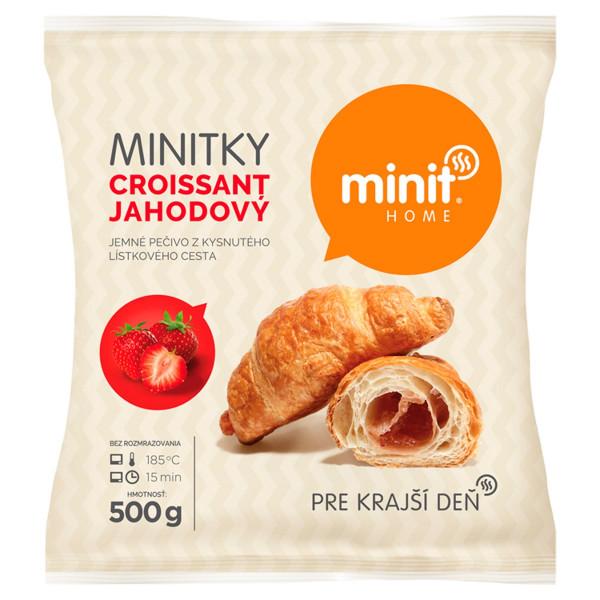 Minitky croissant jahodový 500 g Minit Home 1
