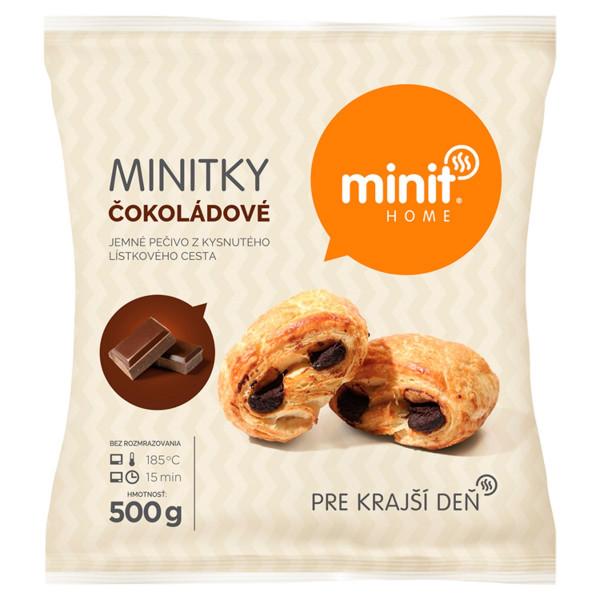 Minitky čokoládové 500 g Minit Home 1