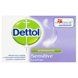 Dettol Sensitive tuhé toaletné mydlo 100 g 23