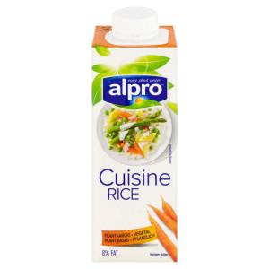 Smotana na varenie ryžová ALPRO 250ml 7