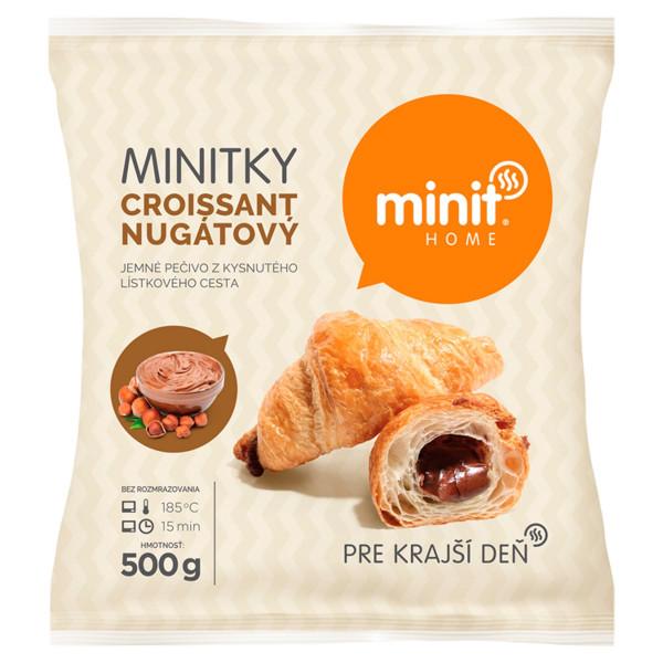 Minitky croissant nugátový 500 g Minit Home 1