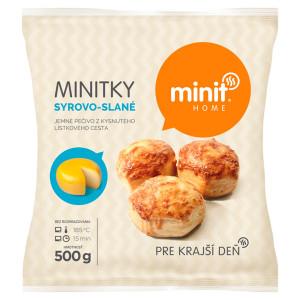 Minitky syrovo-slané 500 g Minit Home 2