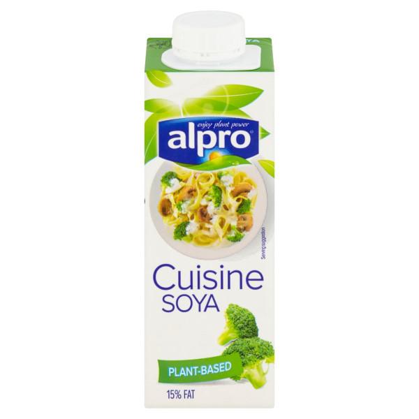 Smotana na varenie sójová ALPRO 250ml 1