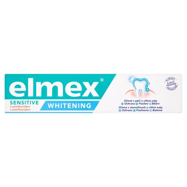 elmex Sensitive Whitening zubná pasta 75 ml 1