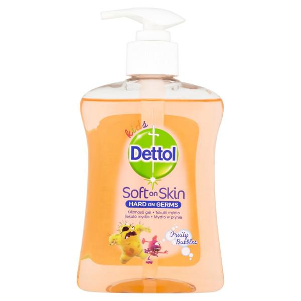 Dettol Kids Ovocné bubliny tekuté mydlo 250 ml 1