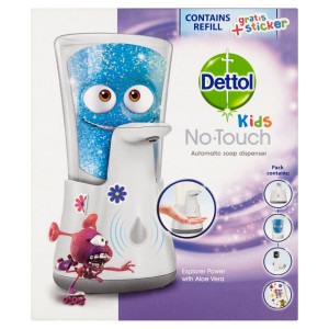 Dettol Kids Bezdot. dávkovač mydla + náplň 250 ml 20