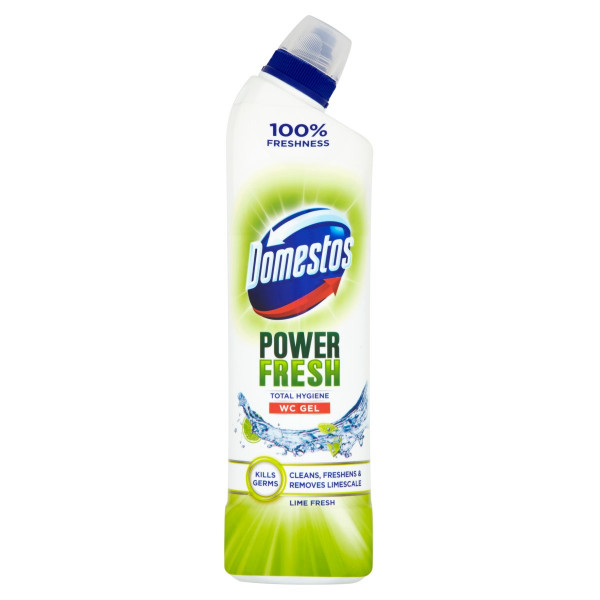 Domestos WC gel Power Fresh Lime 700 ml 1