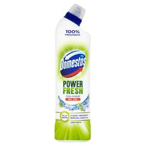 Domestos WC gel Power Fresh Lime 700 ml 5