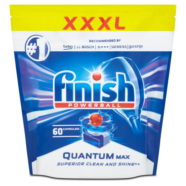 Finish Powerball Quantum Max Tablety 60 ks 930 g 1