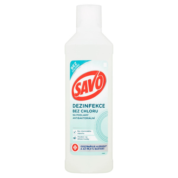 Savo Dezinfekcia bezchlóru napodlahy 1000 ml 1