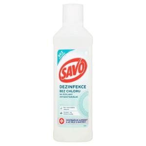 Savo Dezinfekcia bezchlóru napodlahy 1000 ml 5