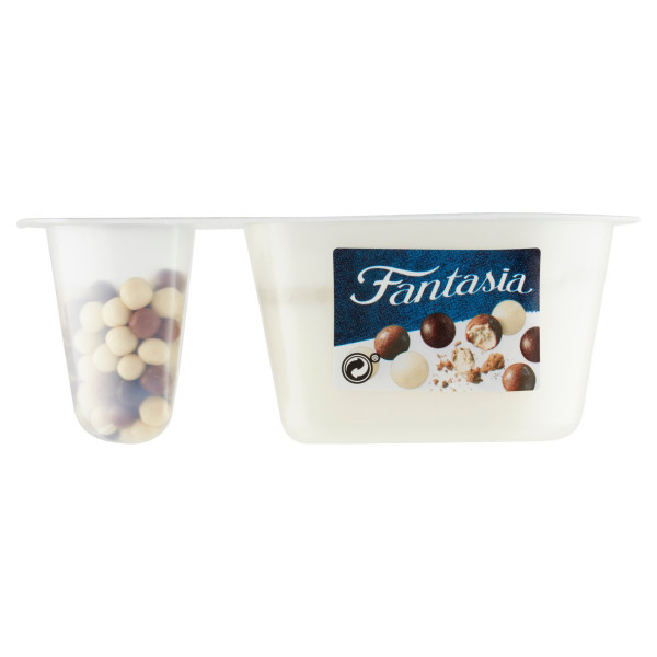 Fantasia jogurt čokoguličky DANONE 100g 1