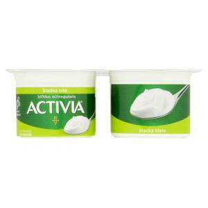 Activia jogurt biely sladený DANONE 4x120g 2