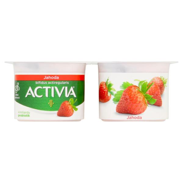 Activia jogurt jahoda DANONE 4x120g 1