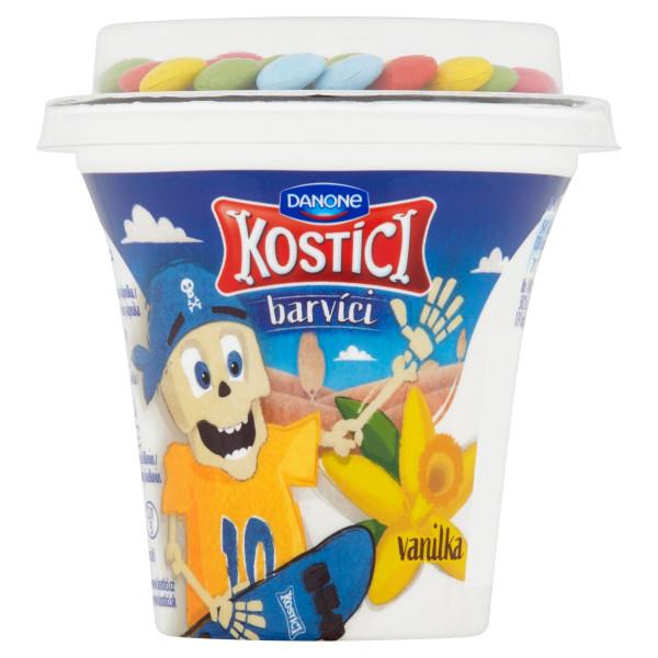 Kostíci barvíci jogurt vanilkový DANONE 109g 1
