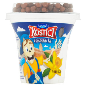 Kostíci čokoparta jogurt vanilka DANONE 107g 7