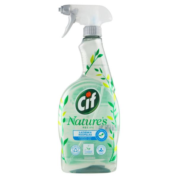 Cif Nature's Recipe Kúpelňa čistiaci sprej 750 ml 1