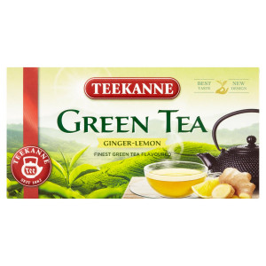 TEEKANNE Green Tea Ginger-Lemon, zelený čaj, 35 g 2