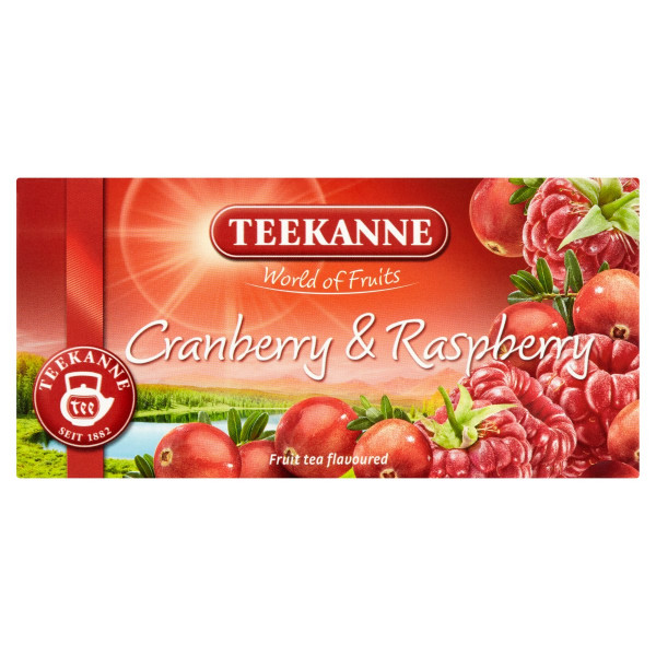 TEEKANNE Cran. & Raspberry, World of Fruits, 45 g 1