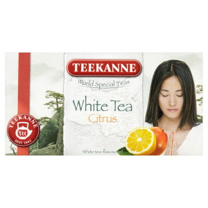 TEEKANNE White Tea Citrus, World Special Teas 25 g 6