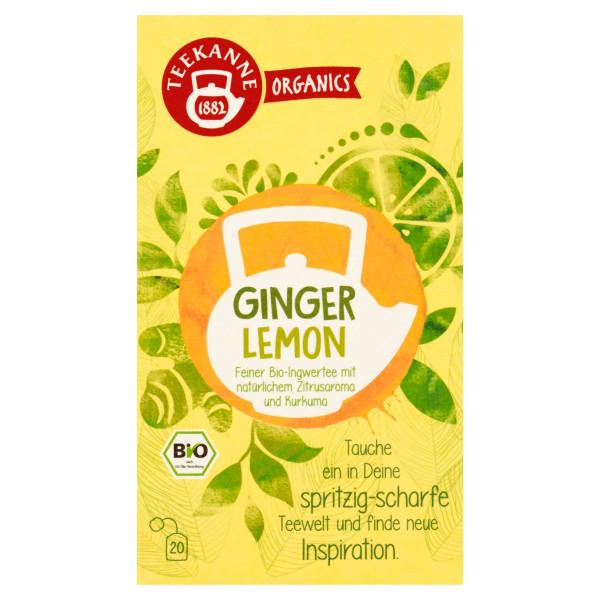 TEEKANNE Bio, Ginger Lemon, 20 vrecúšok, 36 g 1