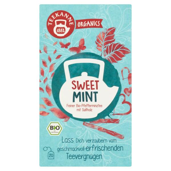 TEEKANNE Bio, Sweet Mint, 20 vrecúšok, 30 g 1