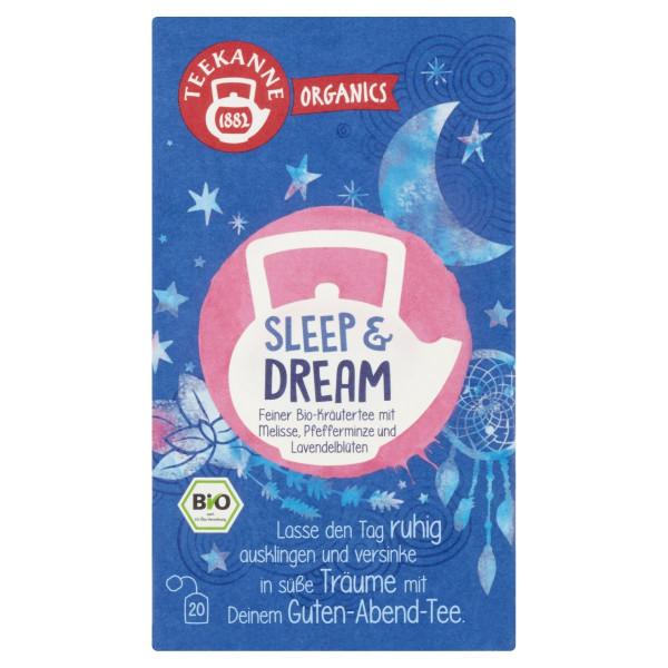 TEEKANNE Bio, Sleep & Dream, 20 vrecúšok, 34 g 1
