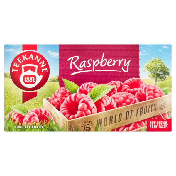 TEEKANNE Raspberry, World of Fruits, 50 g 1
