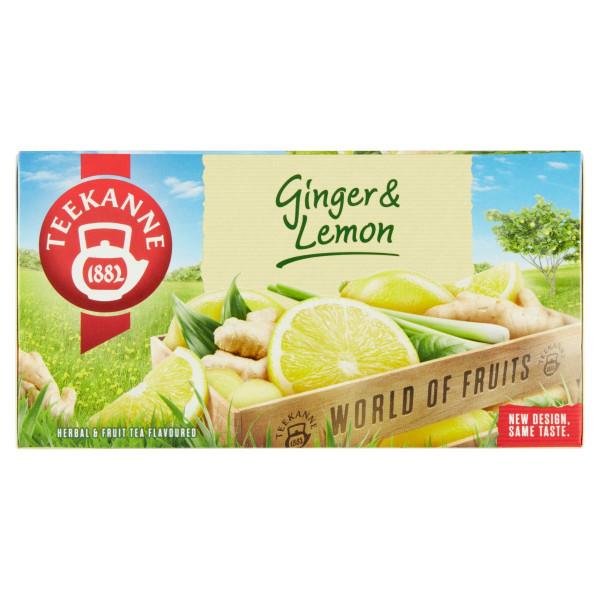 TEEKANNE Ginger & Lemon, World of Fruits 35 g 1