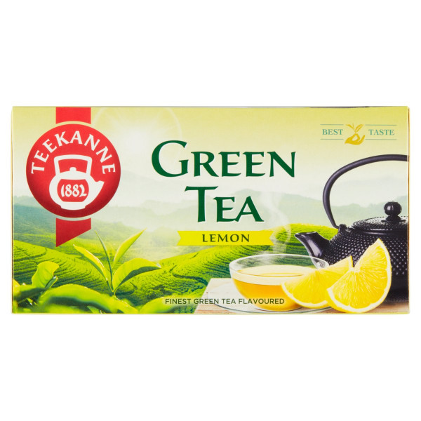 TEEKANNE Green Tea Lemon, zelený čaj, 35 g 1