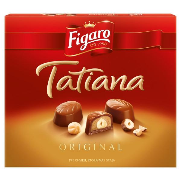 Figaro Tatiana bonboniéra, mliečna čokoláda 172 g 1