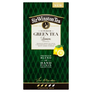 Sir Winston Tea Green Tea Lemon, 35 g 2