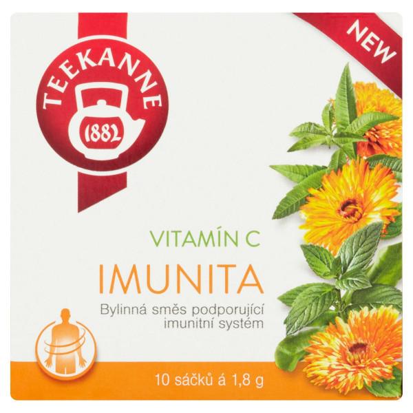 TEEKANNE Imunita, bylinná zmes, 10 vrecúšok, 18 g 1