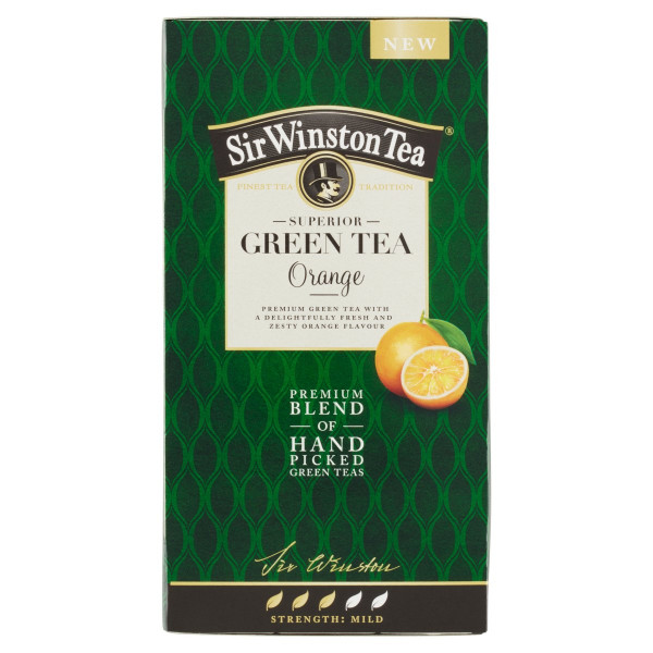 Sir Winston Tea Green Tea Orange, 35 g 1