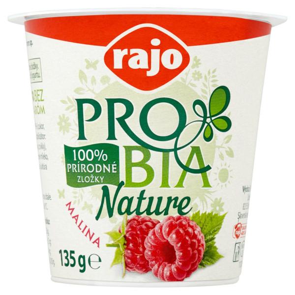 Jogurt PROBIA Nature malina 2,7% RAJO 135g 1