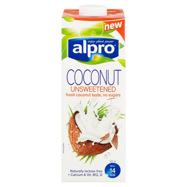 Nápoj kokosový NESLADENÝ ALPRO 1l 1