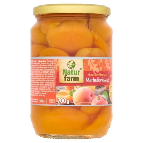 Marhuľový kompót Natur Farm 700 g 1
